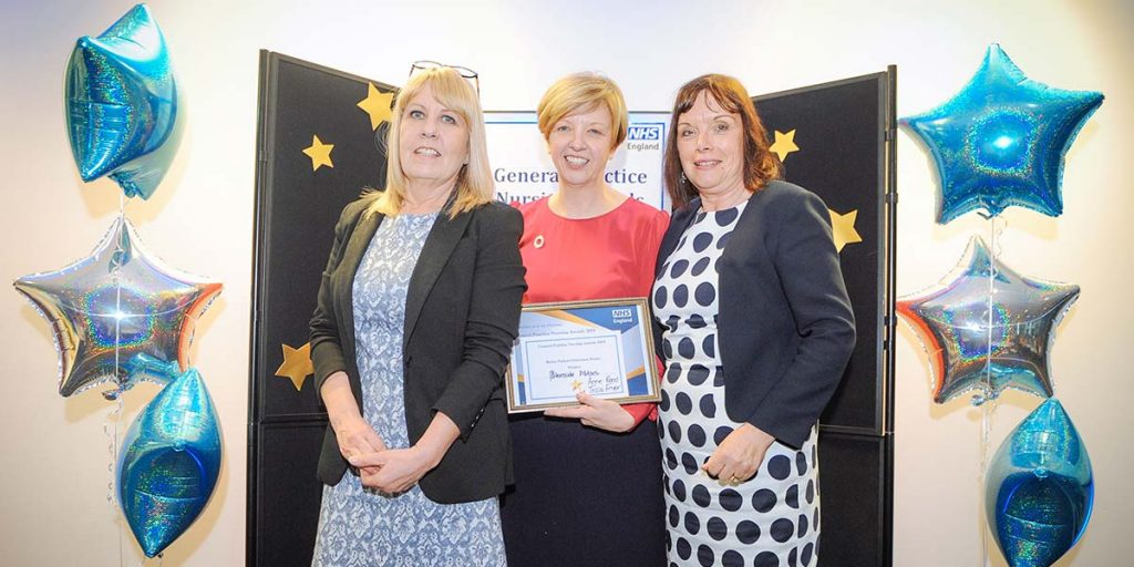 farmer healthcheck nurses win regional award