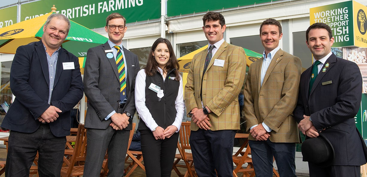 Future Farmers of Yorkshire Group at the Great Yorkshire Show