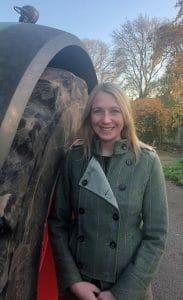 Sarah Hunt member of Future Farmers of Yorkshire
