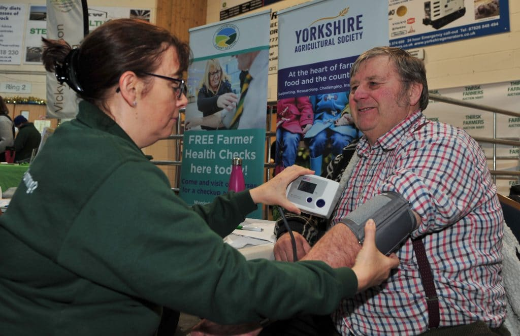 Free farmer health checks in Thirsk