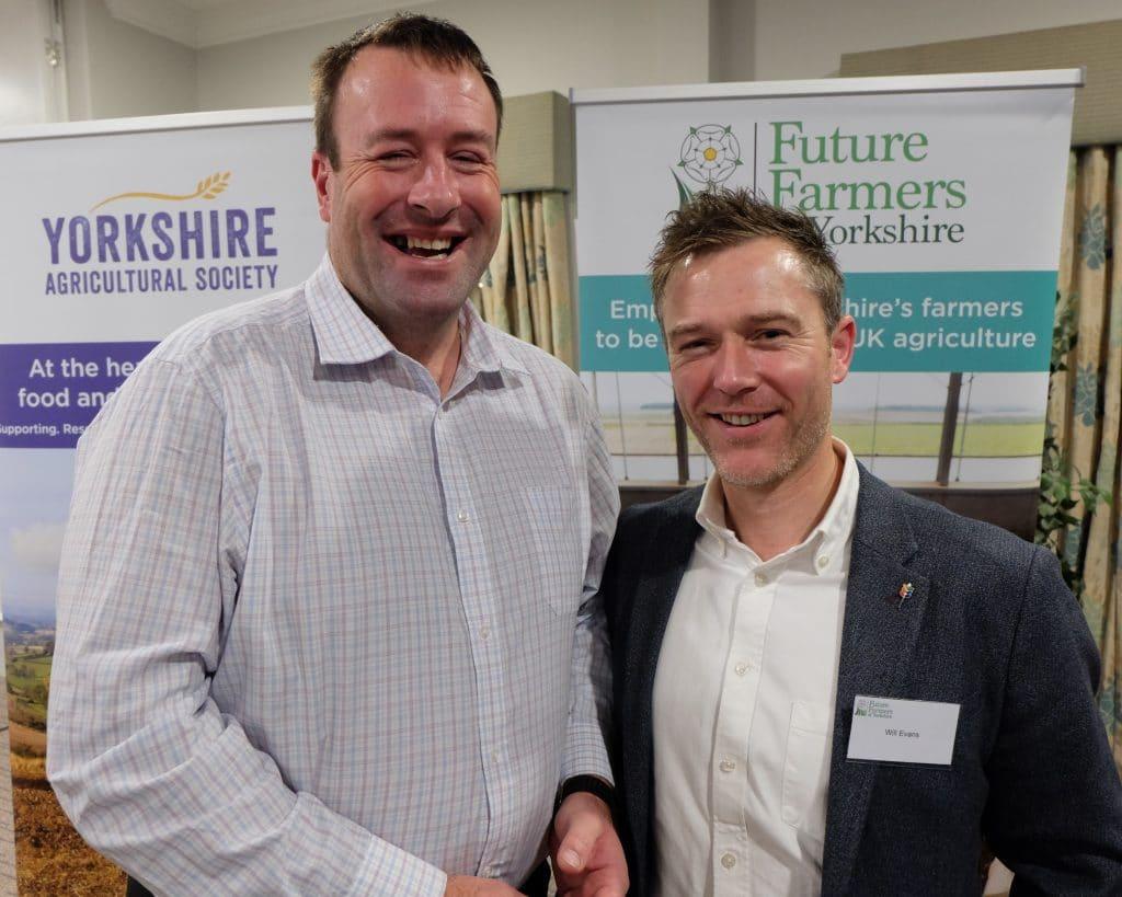 Stuart Roberts & Will Evans
