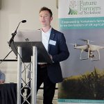 Will Evans speaking at the #Fit2Farm event