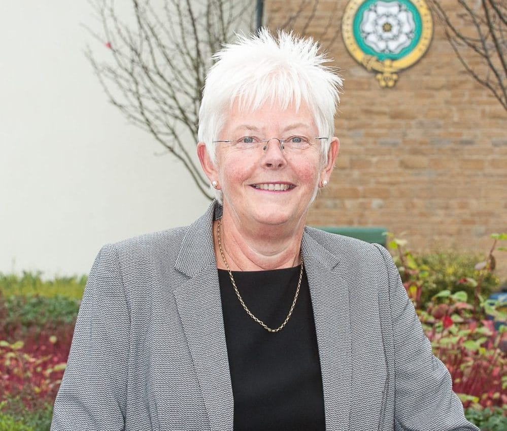 Madge Moore, chair of the Yorkshire Food, Farming and Rural Network